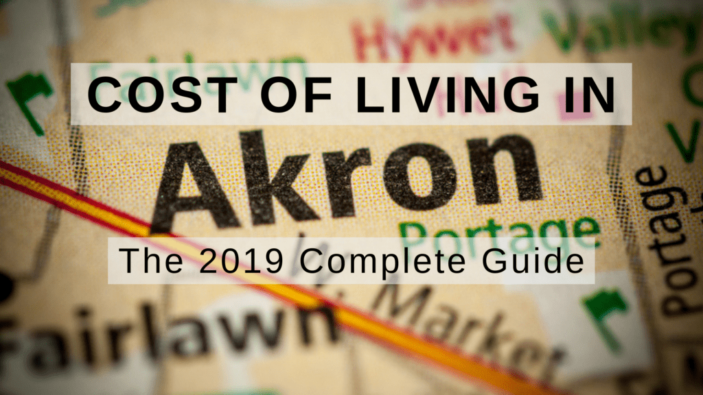 Cost of living in Akron