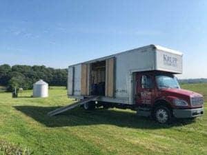 Krupp Moving Truck in field