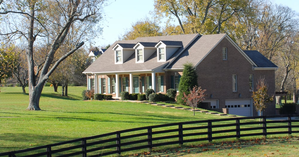 New country estate, luxury home.
