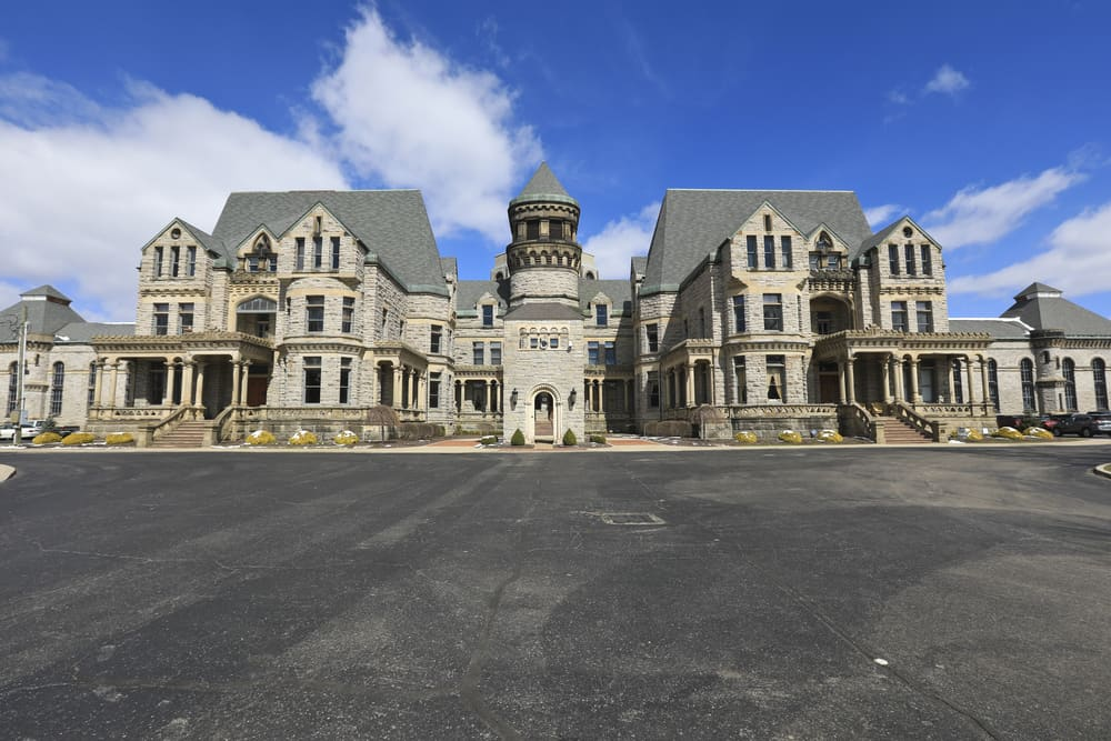 Ohio State Reformatory in Mansfield, OH.