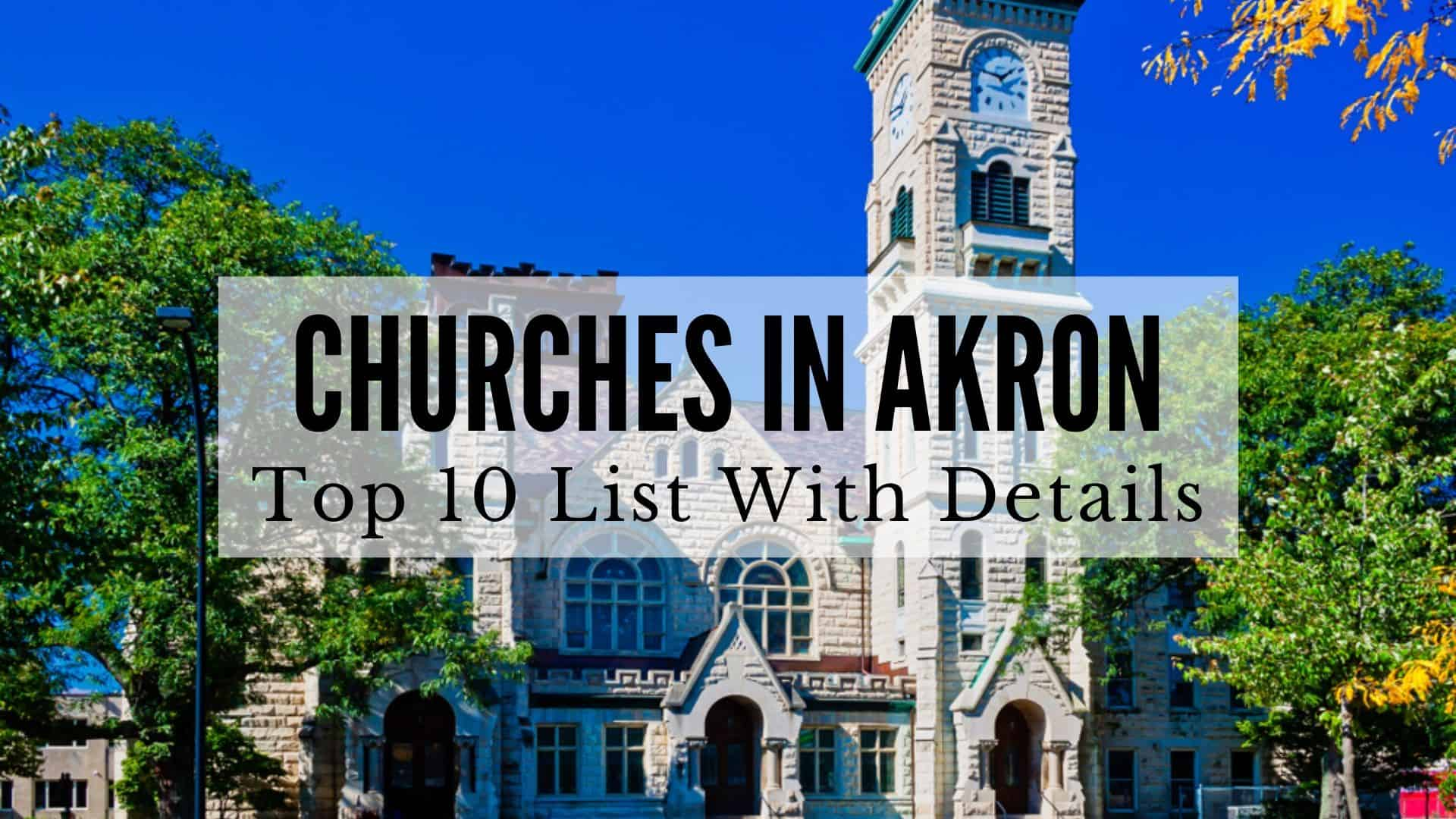 Churches in Akron