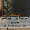 Used Furniture Akron OH (2020) | ULTIMATE List & Tips